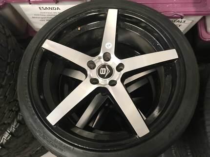 245/30R20 Nexen N6000 Tyres on Aftermarket Alloy RIms - Set of 4