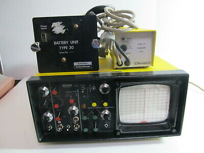 Sonatest Ufd S - Ultrasonic Flaw Detector - Vintage Test Lab Equipment - As Is