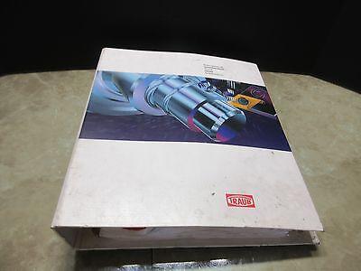 Traub Tnm 42 65 Spare Parts List Sn 142 113-02.01 Cnc Edm