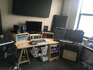 Music Studio Furniture - Desk and 19 inch Racks Swanbourne Nedlands Area Preview
