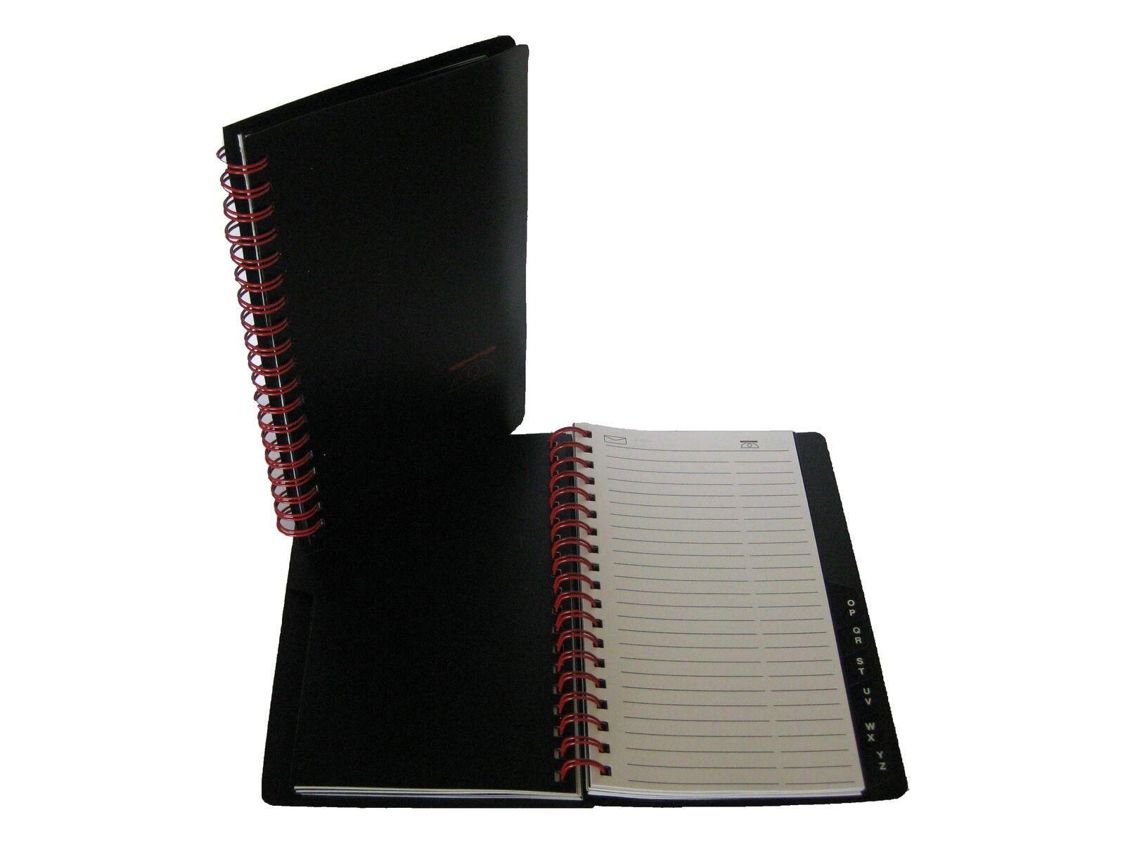 Telefonbuch Adressbuch Telefonverzeichnis Ringbuch mit Register DIN A7 10x13cm