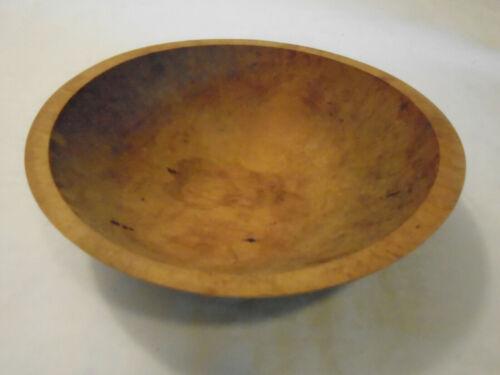 "Vintage Treen Wood Bowl10.5"" x 11"""