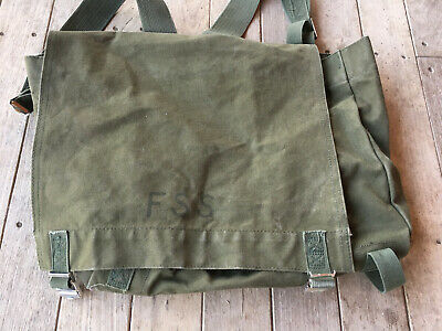 Mint US Military Forest Main Backpack Yellow Fire Fighting Assault Pack Pouch