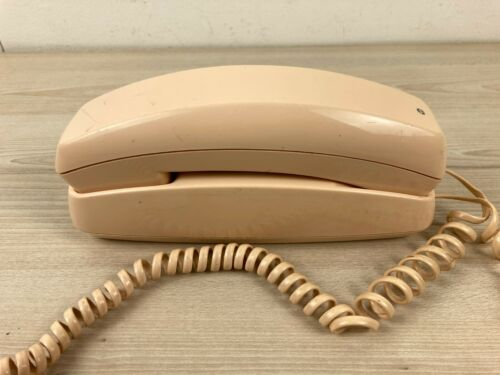 Vintage Telecom TP-10 Slimline 10 Peach Wall Phone