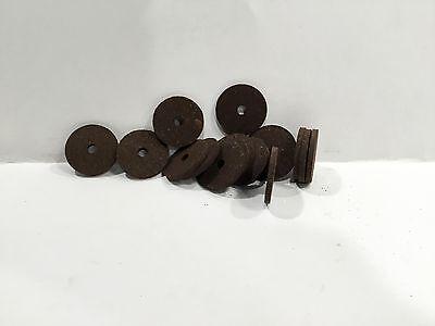 "Cork Rings Burnt Burl Inlay rings 1/8"" Thick,  16 rings"