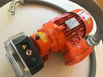 Watson Marlow Peristaltic Pump W 1 Head 520r2c 0.25hp Nord 1si40 520r 2c Fluid