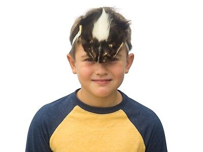 Authentic Real Skunk Face Mask (17-Mask-10) O9 - Halloween Skunk Face