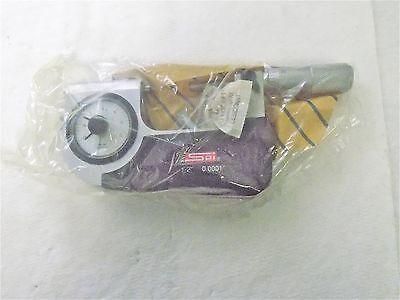Spi Mechanical Indicating Snap Micrometer1-2 Range 0.00010 Graduation13-509-5