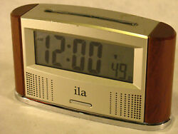 ILA Talking Digital Atomic Clock - Anounces Date and Time