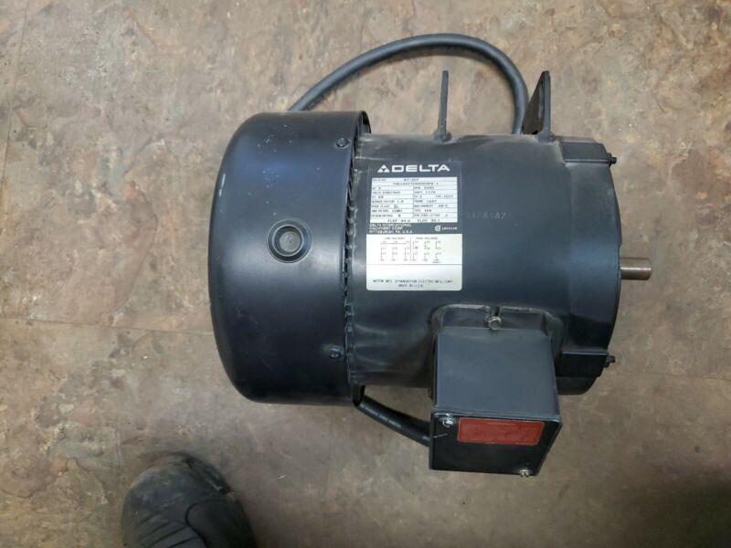 DELTA 87-369 5HP 3480RPM 184Y FRAME 230/460V 3 PH