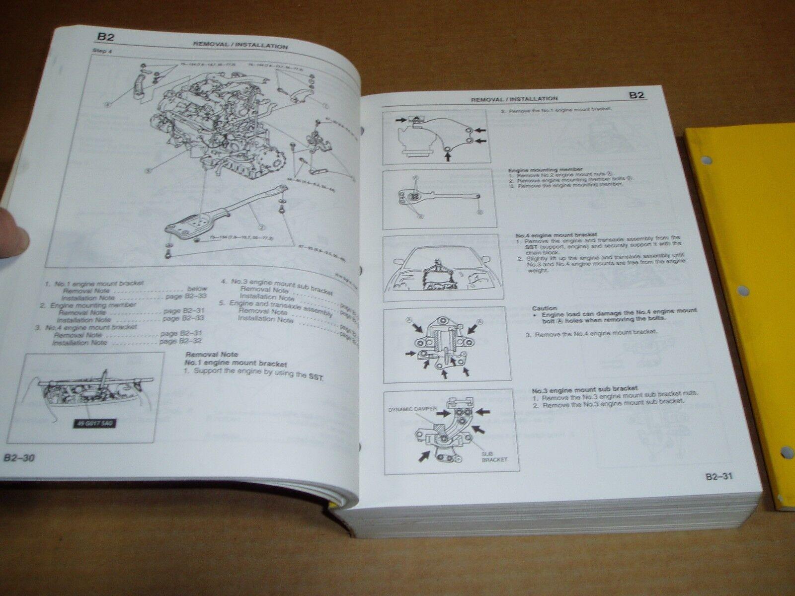 1996 Mazda Millenia Wiring Service Shop Dealer Repair Factory Manual 2000 Diagram 2 Of 5