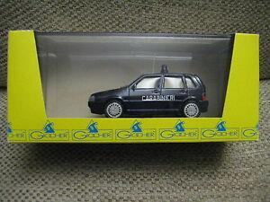 1/43 Giocher Fiat Uno 1991 5-Türer Carabinieri Italien ! NEU