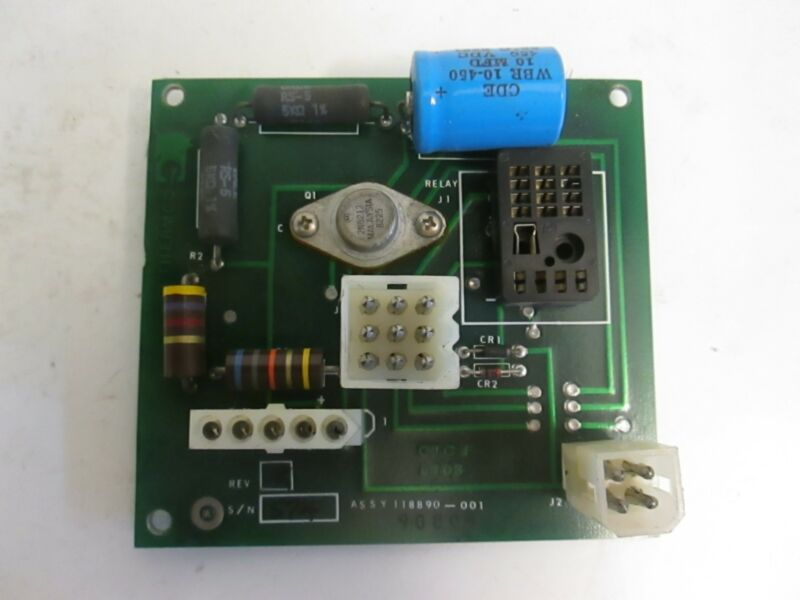 Thermco 118890-001, PCB Assembly, Working When Removed