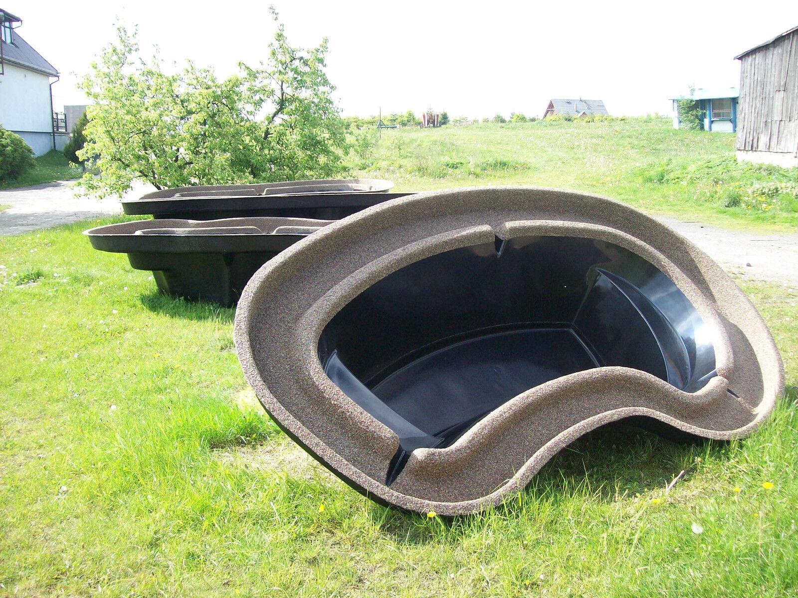 km 2501 gfk koiteich gartenteich becken ca 2500 liter produzent. Black Bedroom Furniture Sets. Home Design Ideas