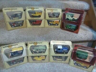 Huge Lot of Vintage Matchbox Models of Yesteryear Cars Trucks Lot