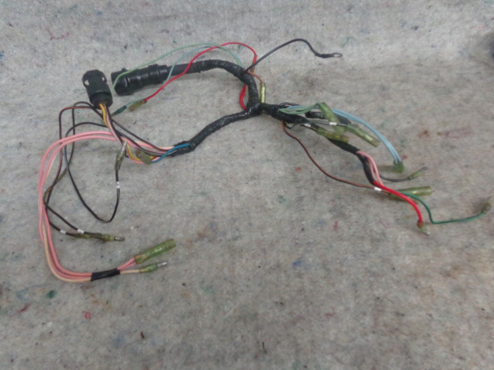 YAMAHA WIRE HARNESS ASSY 6H4-82590-11-00, 1989- 1994 40/50HP