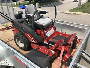 "Ferris f60Z 36"" commercial ride on mower."