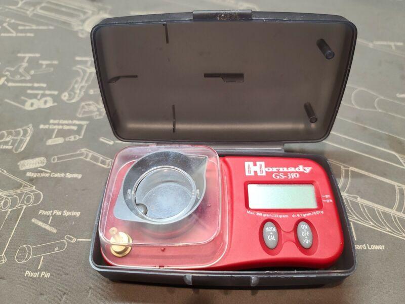 Hornady GS-350 Digital Powder Scale .1 Accuracy w/Case MAKE OFFER!
