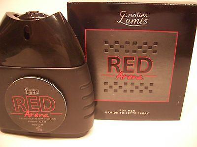 Red Arena Herren Parfüm Eau de Toilette 100 ml von Creation Lamis - Red Parfüm Eau De Toilette