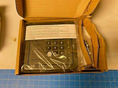 5355agk00 Hid Proxpro Proximity Reader Charcoal Gray W Keypad Wiegand New