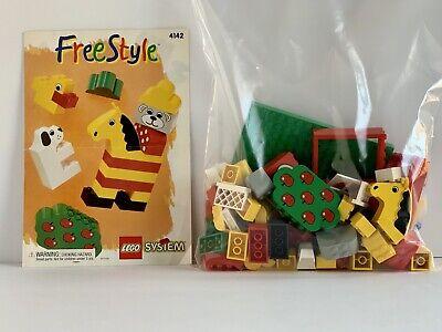 LEGO 4142 Freestyle Building Set 100% Complete - No Box *Vintage 1995*