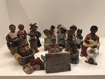 All God's Children Miss Martha Originals Martha Holcombe Set Lot Of 18 Nice!