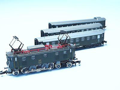 81418 Marklin Z-scale SBB Swiss Passenger Train set class Ae 3/6 II , used for sale  Napa
