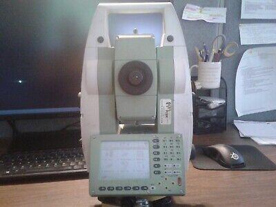Leica Tcp1205 5 Robotic Total Station Allegro Survce Carlson Data Collector