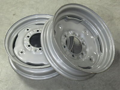 2 Wheel Rims 4.5x16 For Massey Ferguson Mf 135 150 165 175 180 230 235 240 245