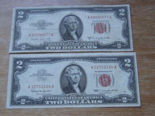 Lot of 2 World Paper Money #1597