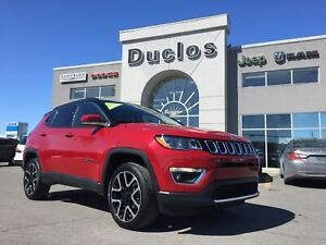 2018 Jeep Compass Limited*NAV*DÉMARREUR*TOIT PANO*CUIR CHAUFF*CA