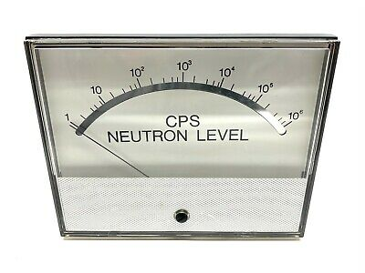 Weschler Instruments Tr520g 200839-00m Cps Neutron Level Gauge Meter