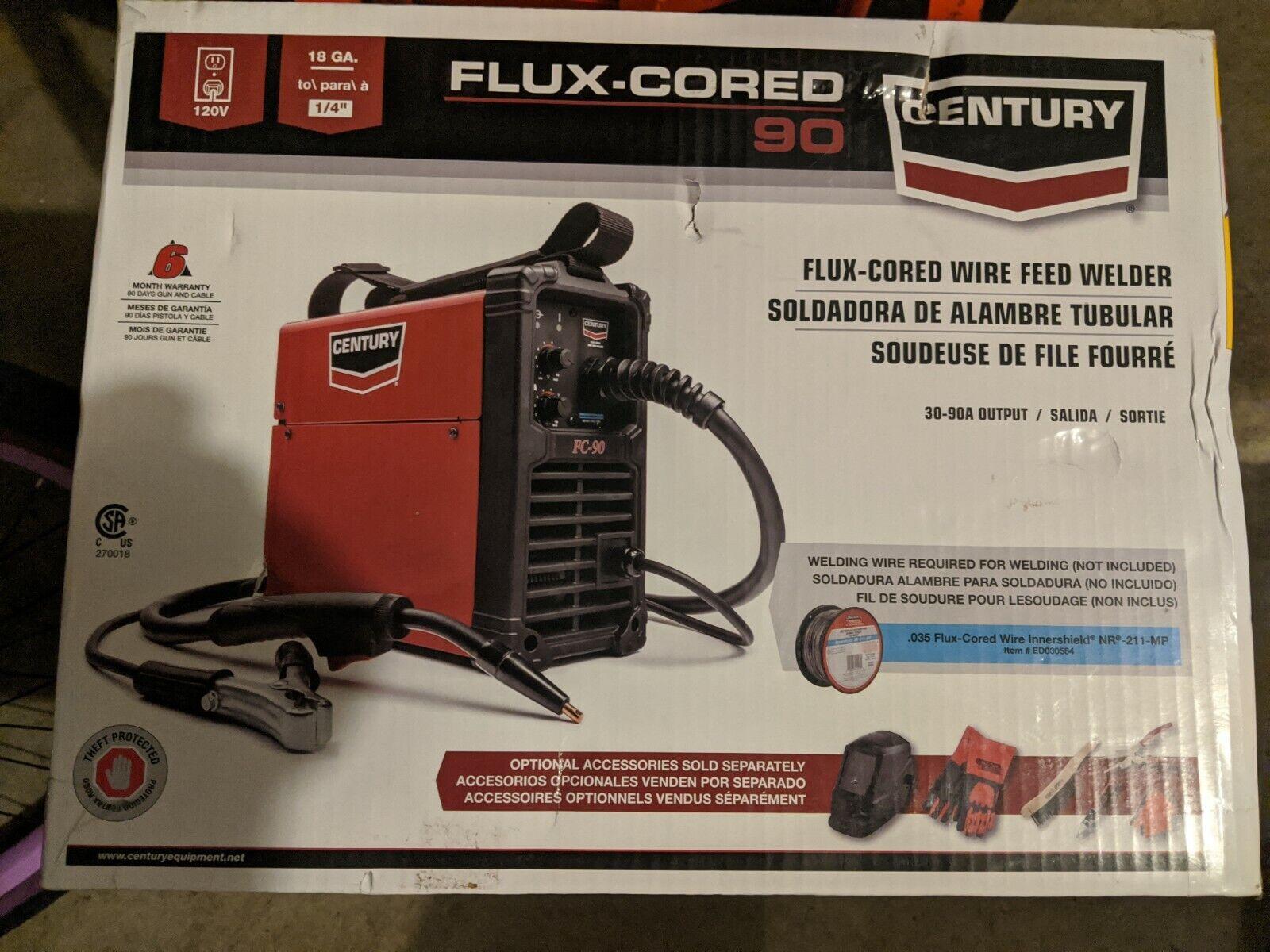 Century Welder Gun 90 Amp FC90 120 Volt Flux Core Wire Feed