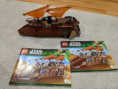 LEGO 75020 Star Wars Jabba's Sail Barge - 99,9% complete, no minifigures