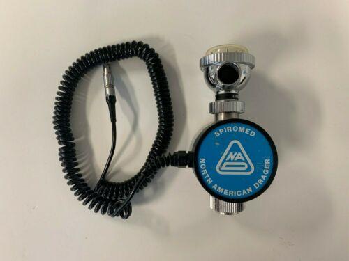North American Drager Spiromed Electronic Spirometer Sensor- Expiration- 4106362