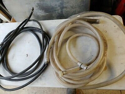 Accuspray Turbine-hvlp Flex Hoses And Pressure Feed Line 5 Pieces