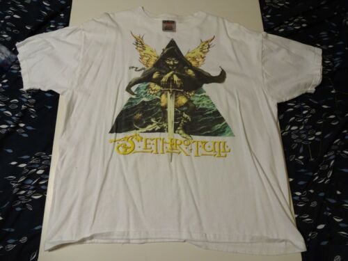 Vintage JETHRO TULL  T-Shirt Size XL  ONEITA 100% Cotton