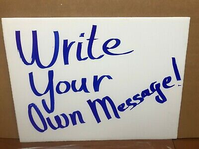 100 Signs Board 24x18 X4 Mm Corrugated Plastic 100 Pieces Blank Sign White