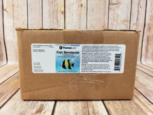 Thomas Labs Fish Anti Parasitic for Aquarium Fish 3 Packets 250mg Each