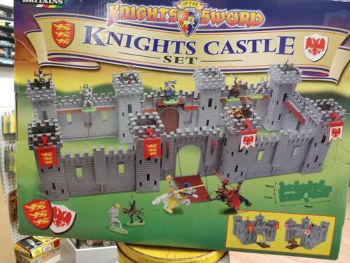 Britains Knights Castle Toy Soldier Play Set