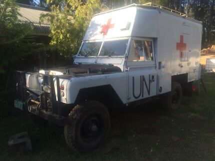 Landrover Ex-Military Ambulance Ilkley Maroochydore Area Preview