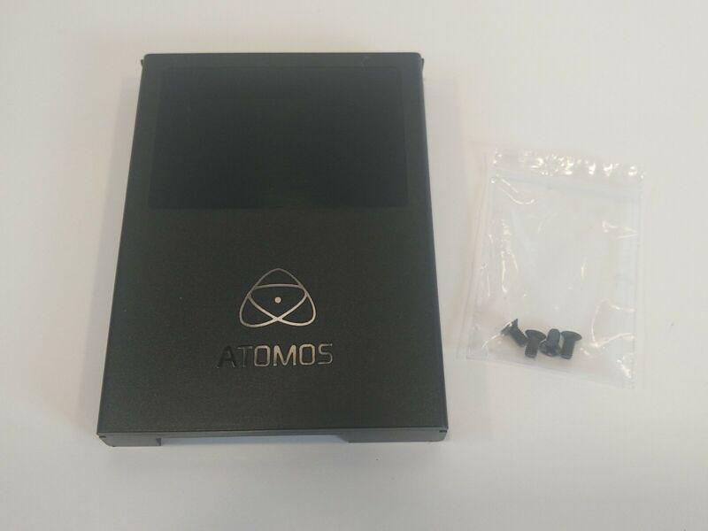 Atomos Master Caddy II HDD SSD Case w Screws Ninja Blade Samurai Flame