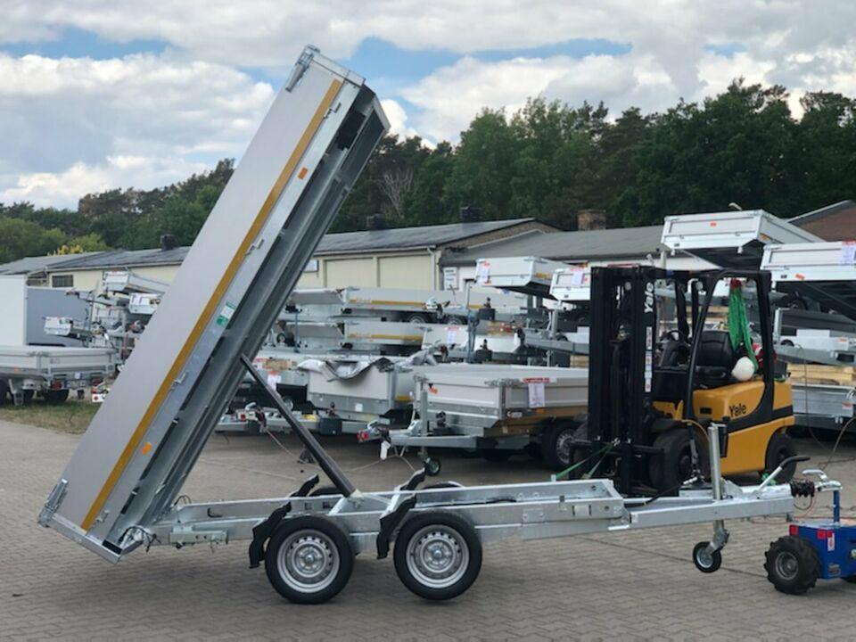 ⭐️ Anhänger Eduard Kipper 2700 kg 311x160x30 cm Rampen 63 in Schöneiche bei Berlin