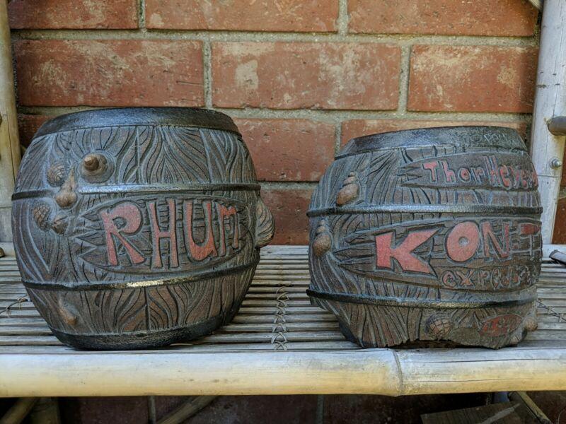 Kon Tiki Rum Rhum Barrel Thor Heyendahl Underwater Sea Mug Sunken Treasure