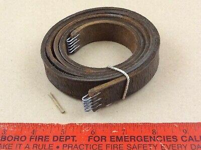 Nice Leather Lathe Drive Belt 4 South Bend 9 Lathe 54 X 1516 X 316 Pin