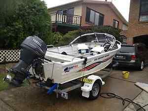 2006 Quintrex 420 Estuary Angler Boat w 40hp Yamaha 4 Str engine Tuross Head Eurobodalla Area Preview