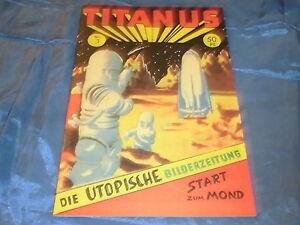 TITANUS  Nummer 3 , Sammlerausgabe , Utopia / Science-Fiction COMIC