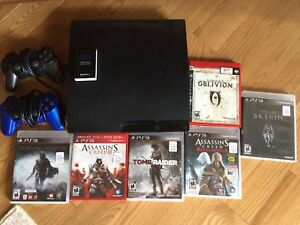 Ps3, 2 controllers, 6 games