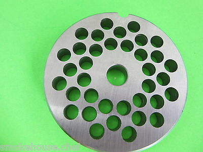 22 X 516 Meat Grinder Plate Stainless Steel Fits Adcraft Weston Choprite