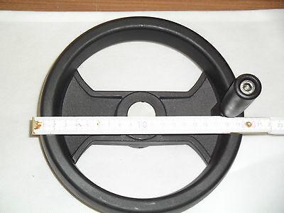 Stellrad (Handrad Stellrad mit fester Kurbel, demontierbar und drehbar, Durchmesser 200)